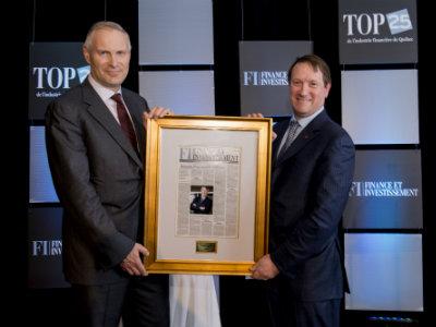 Louis Vachon gagnant du Top 25 : réussite d'un modèle d'affaires