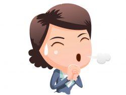 Une femme d'affaires qui souffle de soulagement.