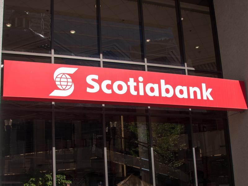 Logo de la banque scotia