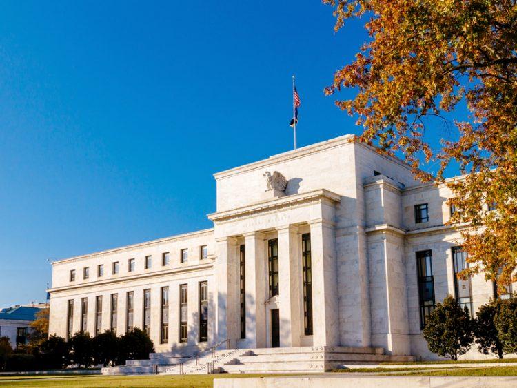 Photo du bâtiment de la Réserve fédérale américaine