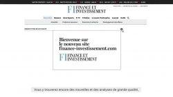 Voici le nouveau finance-investissement.com