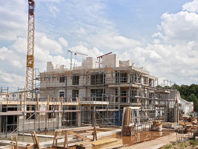 Une image d'un chantier.