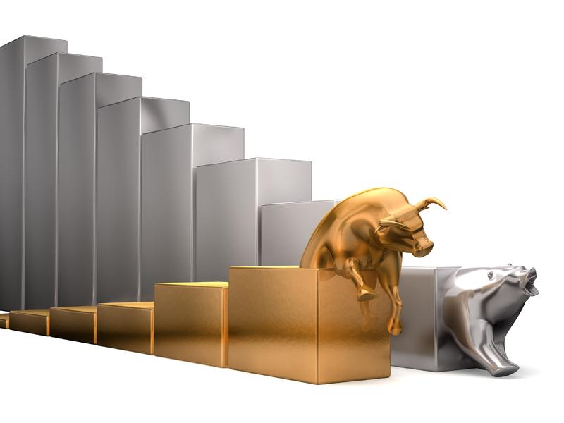 Marché haussier et baissier, bull et bear markets