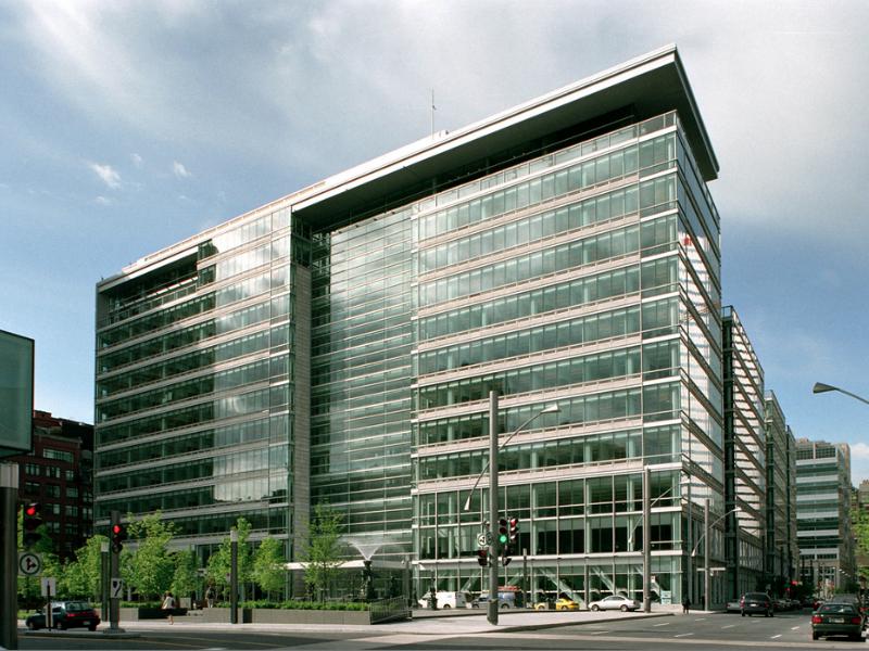 Image de la Caisse de dépôt et placement à Montréal.