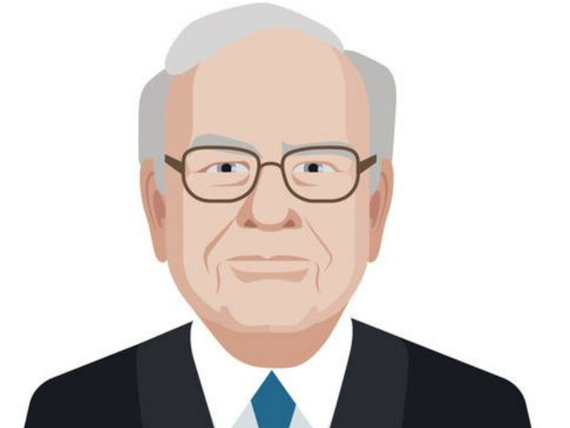 Un dessin de Warren Buffett