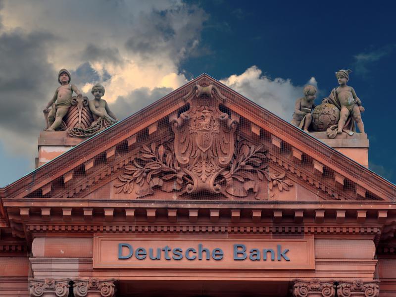Photo de la Deutsche Bank à Brême.