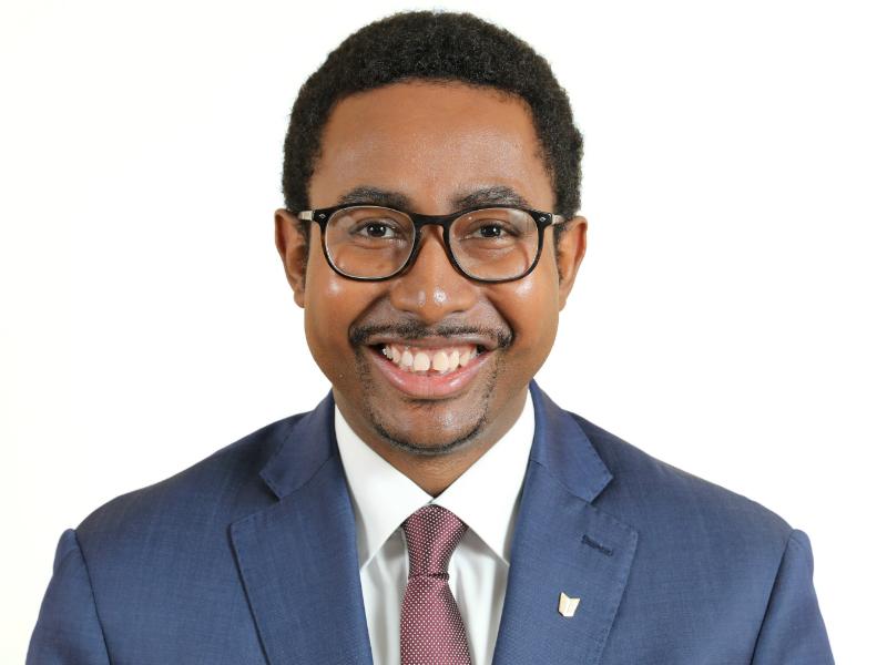 Photo portrait d'Oumar Diallo.