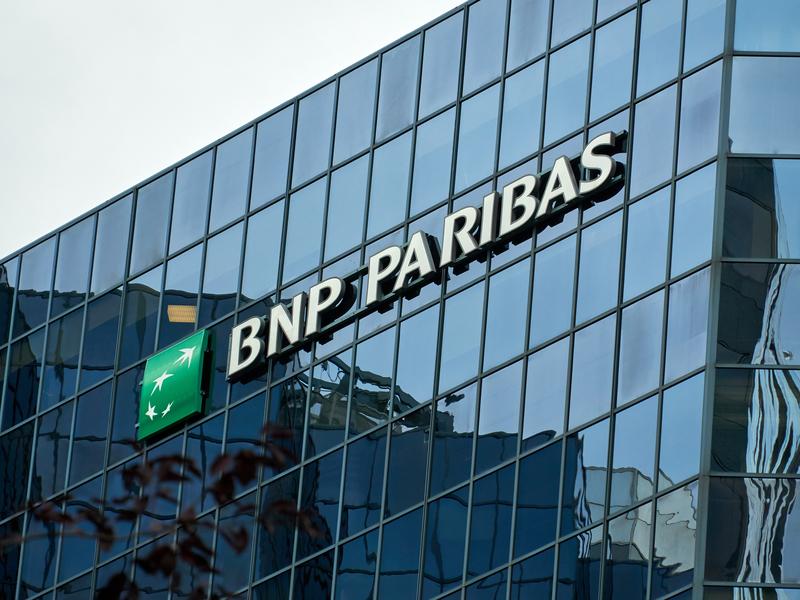 L'immeuble de BNP Paribas à Montréal.