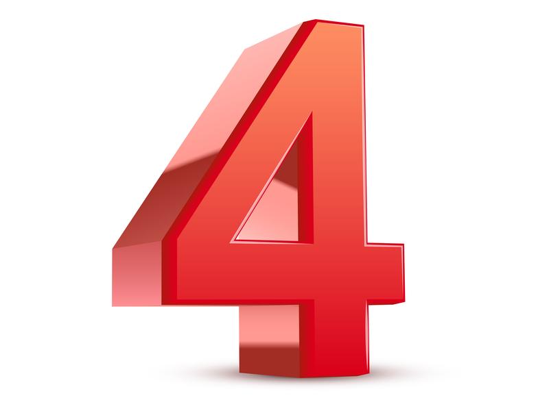 Le chiffre quatre
